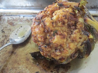 Roasted whole cauliflower_2478